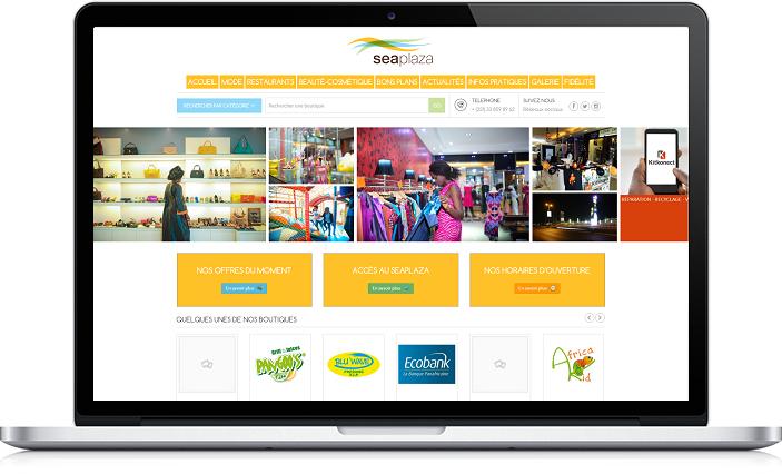 Site Web Sea Plaza