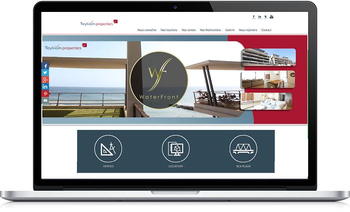 Site Web Teyliom Properties